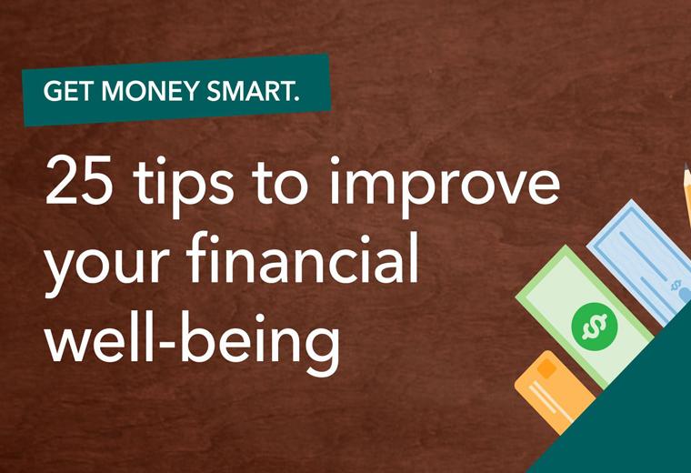 Get Money Smart 25 tips image