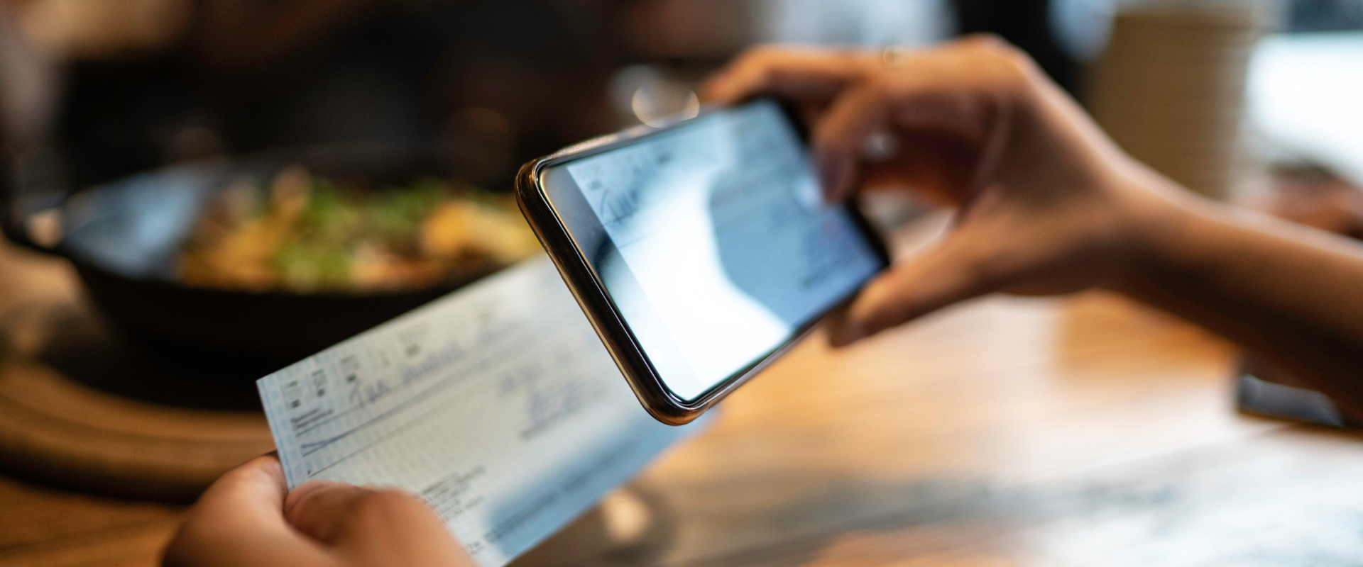 Deposit checks right from your phone