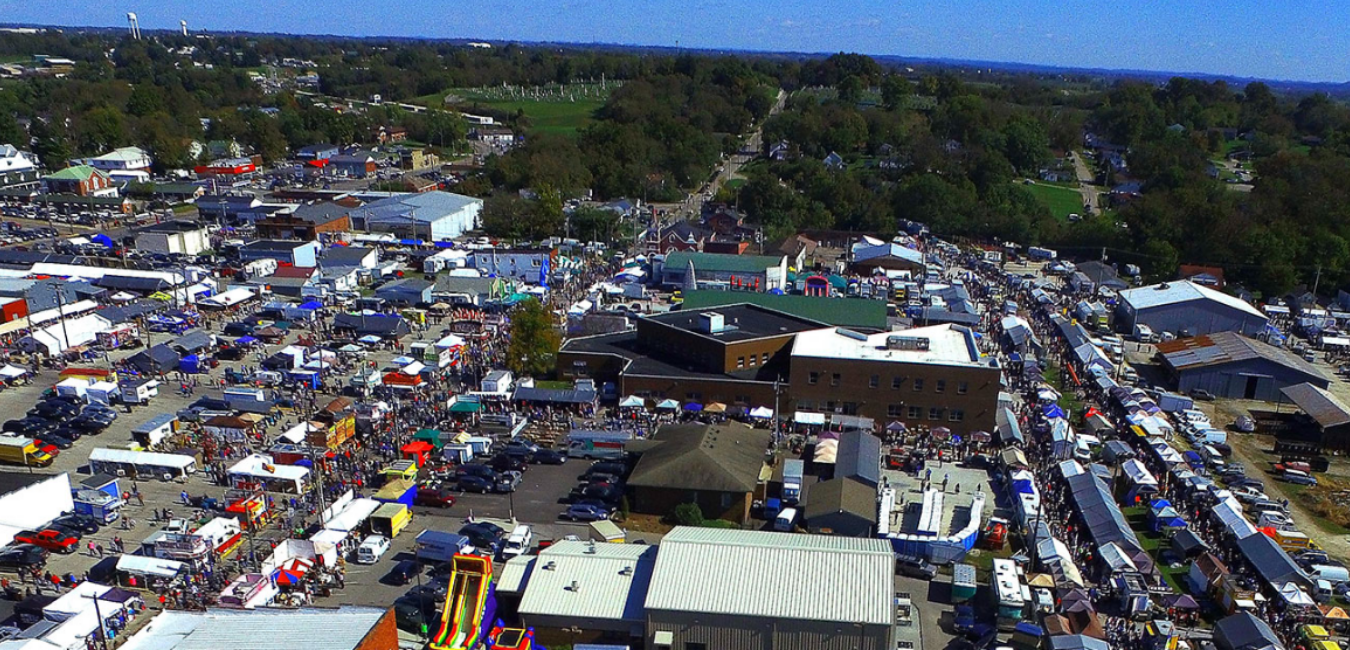 Overview of Mt. Sterling Court Day Festival