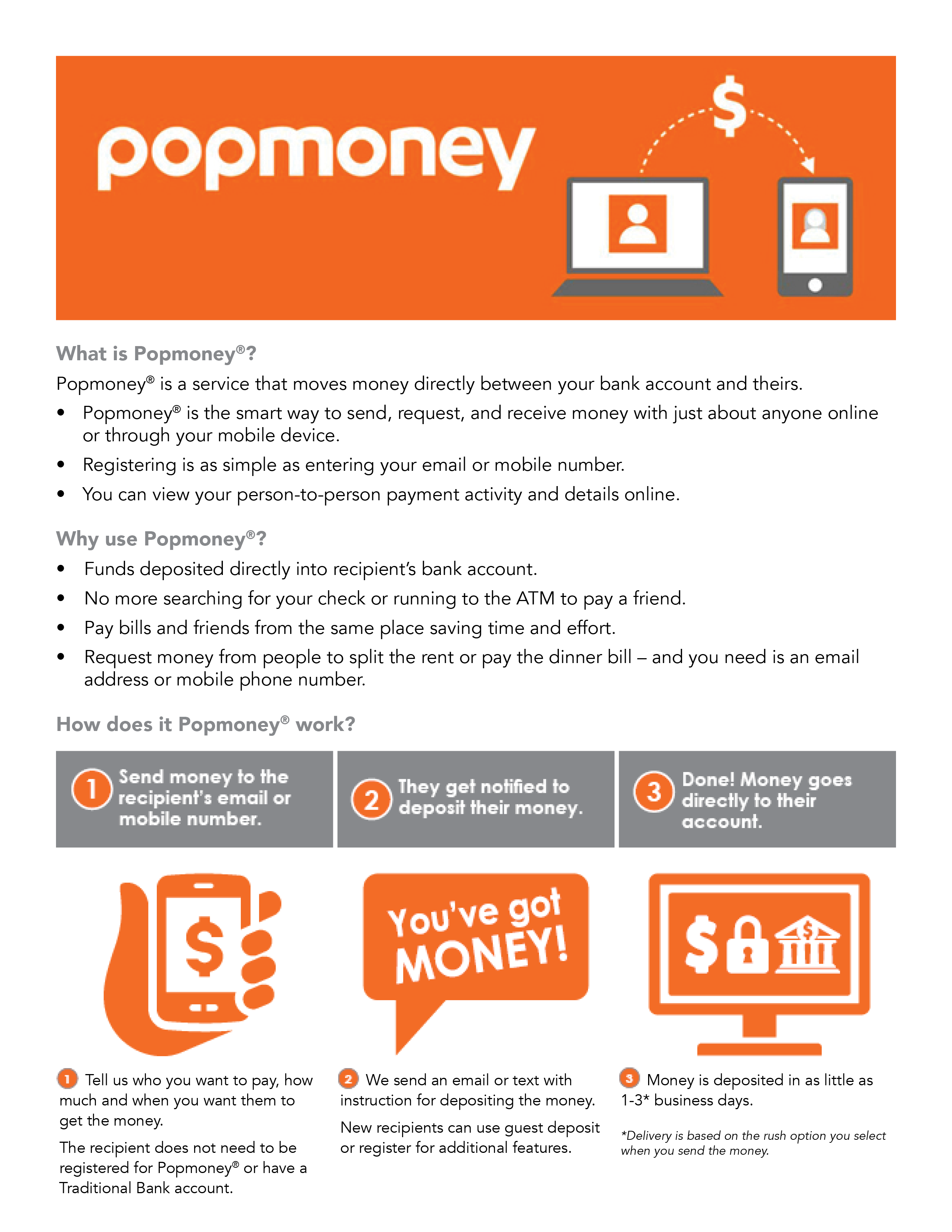 What is Popmoney?