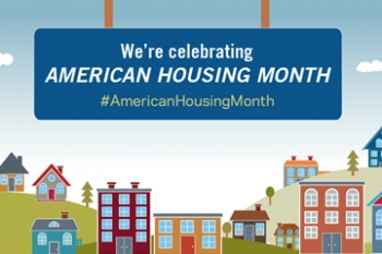 American Housing Month Banner