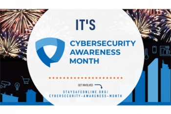 Cybersecurity Awareness Month image Banner