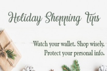 Holiday Shopping Tips image Banner