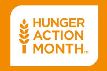 Hunger Action Month Banner