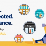 Shop Local Stay Connected Small Business Saturday image